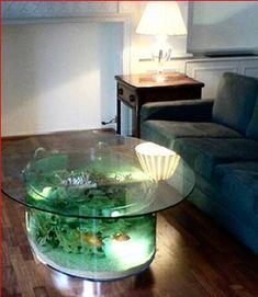 Modern Fish Aquariums Table Aquarium Fish Tank Furniture Pet