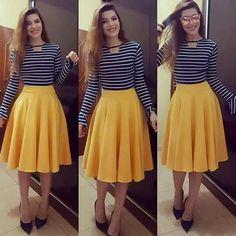Modelos de faldas para ir a la iglesia  #faldas #iglesia #modelos #modelosdeFalda