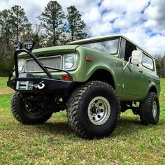 """    """"Just a quick #GlamourShot of the #Scout. #Scout800 #IHScout #Arkansas"""" By: kristianindy @ http://ift.tt/1SQFnBh     international scout 80/800    """
