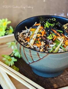 Soba Noodle Salad from @Sandra @SECooking