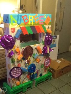 Photo booth for Aubrees 1st bday party