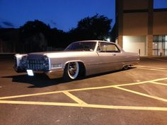 Rebuilt 66 Caddy  bagged by DJ Customs