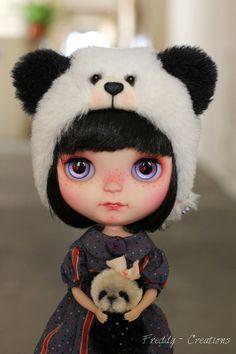OOAK CUSTOM Blythe Doll by Freddy Tan Balance by FreddyCreations