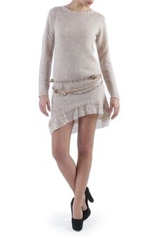 Good #thursday!WONDERFUL WOOL DRESS!    Today 30% OFF!!  http://www.mireafashion.it/en/womens-dresses-italian-knitwear/35288-wool-mohair-dress-with-gold-sequins-2030007343.html #fashion #dresses #shopping #outfitoftheday #picoftheday #tagsforlikes #madeinitaly #instalike
