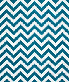 Use Durable Water Repellant fabric for your outdoor spaces!  This one's Premier Prints Outdoor Zig Zag Blue Moon Fabric $8.80 per yard