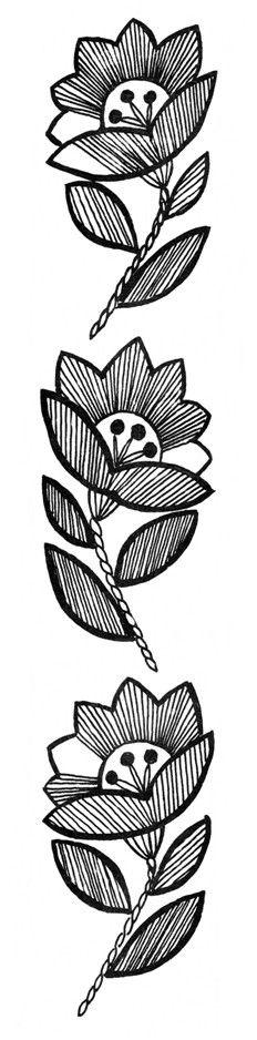 Mustrilaegas: BB Tikitud motiivid motivos bordados /
