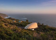 Autonomous Tent is an off-grid glamping structure created to pop up almost anywhere in the world.