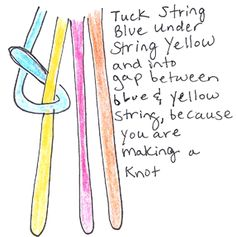 101 step How to Make V Shaped Arrows Friendship Bracelets Illustrated Instructions