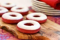 Orange Is The New Black Red Velvet Doughnuts Recipe