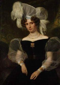 1831 RIEDEL Portrait Therese von Schenk