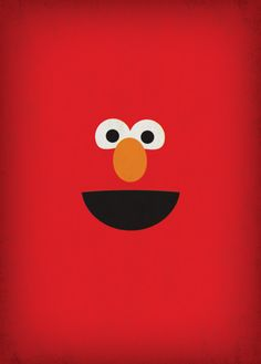 Sesame Street Party Elmo Instant Download Nursery by TheRetroInc