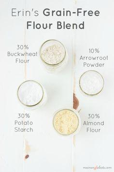 Erin's Grain-Free Flour Blend - Meaningful Eats