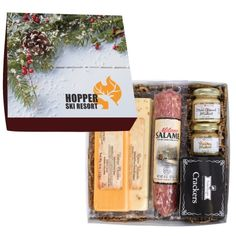 Deluxe Charcuterie Gourmet Meat & Cheese Set In Gift Box Chocolate Drizzle, Chocolate Covered Pretzels, Chocolate Truffles, Chocolate Chip Cookies, Gourmet Food Gifts, Gourmet Recipes, Charcuterie, Appreciation Message, Boxes And Bows