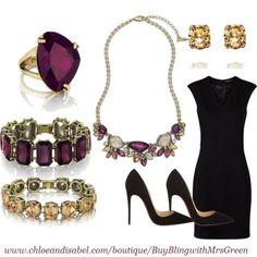 Little Black Dress Accessories www.chloeandisabel.com/boutuque/catherineeaton