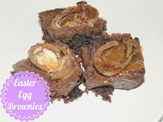 Easter Egg Brownies| So Naughty but So Nice