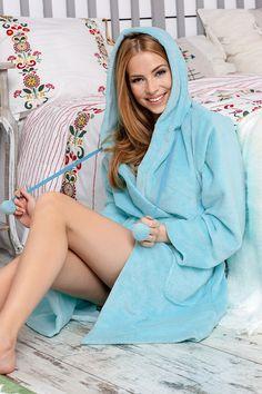 "Bathrobe ""Iris"" by Mona Iris, Camisole, Bodysuit, Sweaters, Dresses, Women, Products, Fashion, Onesie"