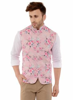 Buy Lee marc nehru waist coat for men Light Pink Color Online at Low prices in India on Winsant, India fastest online shopping website. Shop Online for Lee marc nehru waist coat for men Light Pink Color only at Winsant.com. COD facility available. #jacket #indianwear #indianwear #leatherjacket #coat #suit Indian Wedding Suits Men, Indian Wedding Clothes For Men, Wedding Dress Men, Indian Clothes, Kurta Men, Mens Sherwani, Wedding Sherwani, Indian Formal Wear, Indian Groom Wear