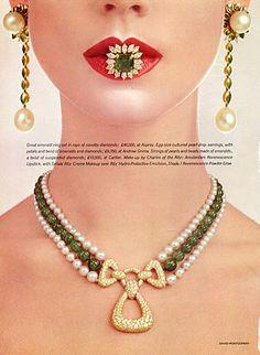 Cartier & Graff (Jewels) 1978 Photo David Montgomery