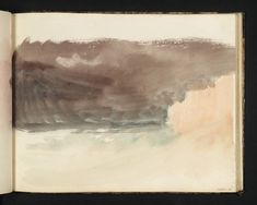 Joseph Mallord William Turner, 'Drawing' 1819