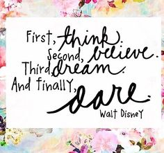 I just love Walt Disney and everything he represents. He's positive, optimistic and looks at life through a kids eyes! Believe in yourself, follow your dreams and dare to live the life you love #coconutsandsaltykisses