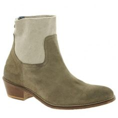 $225  Yves Saint Laurent Zadig And Voltaire Beige Teddy Ankle Boots