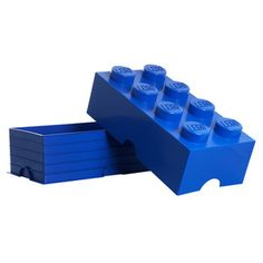 Storage Brick Large Blue now featured on Fab.