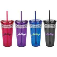 20 oz. BELLA GEM DOUBLE WALL ACRYLIC CUP