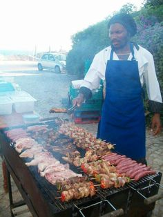 Huge BBQ in Portugal..
