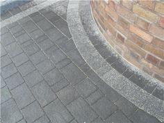 Marshalls Argent Block paving Driveway Liverpool --> MossLandscapes.co.uk Block Paving Driveway, Garden Tiles, Driveways, Marshalls, Garages, Curb Appeal, Liverpool, Garden Design, Diy