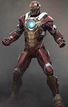 Check out some concept art for Tony Stark's new armor in Iron Man 3 . There was a big leak of Iron Man 3 concept art la. Iron Man 3, Iron Man Suit, Iron Man Armor, Marvel Comics, Marvel Heroes, Marvel Avengers, Batman Robin, Les Innocents, Robert Downey Jr.
