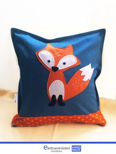 Cushion Covers, pillow cases, fox , home decor