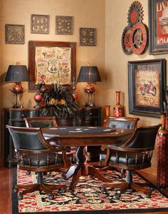 Card Table Area