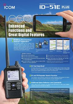 ID-51E PLUS D-STAR Digital Amateur Radio Handportable launches in the UK: http://www.icomuk.co.uk/News_Article/3508/18401/  #icom #harmradio #dstar