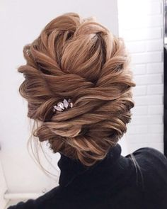 Gorgeous updo wedding hairstyle to inspire you wedding hairstyles,bridal updo hairstyle ,updos #weddinghair #hairstyles
