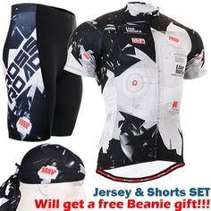 63.66$  Watch here - http://ali5kt.worldwells.pw/go.php?t=32595306550 - cycling sets 2016 Breathable Ciclismo Jerseys MTB Bicycle Clothes Ropa Ciclismo Suit Short Sleeve balck white Mens