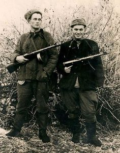 .these fighters fought against the Bandera