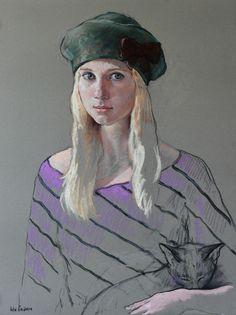 Katya Gridneva [Катя Гриднева] 1965   Ukrainian Figurative painter