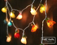 20 Colorful Mixing Ladybug Fairy Lights String by NewaLights