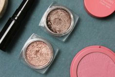 L'Oreal Infalliable Eyeshadows in Bronzed Taupe and  Amber Rush