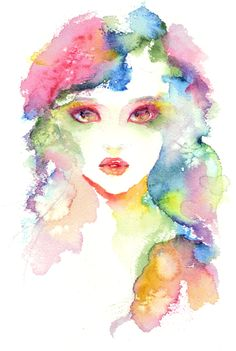pretty watercolour painting