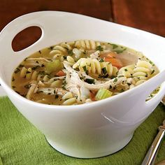 Quick Chicken Noodle Soup | MyRecipes