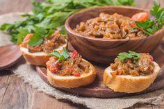 Zamatos, paradicsomos, padlizsános krém: ez nem olyan, mint amilyet szoktál készíteni Tostadas, Tofu, Caviar, Avocado Pasta, Baked Potato, Cantaloupe, Potatoes, Baking, Fruit