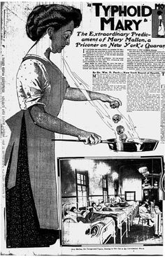 The Story of Typhoid Mary - 1900s History