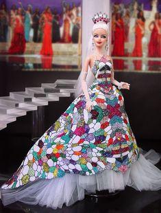 Barbie Gowns, Barbie Hair, Doll Clothes Barbie, Vintage Barbie Dolls, Barbie Miss, Poppy Parker, Beautiful Barbie Dolls, Barbie Collection, Barbie World