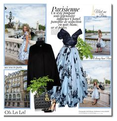 """""""Lady in Paris!!"""" by lilly-2711 ❤ liked on Polyvore featuring Magdalena, Harrods, Christian Dior, WallPops and Christian Louboutin"""