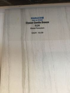 For Kids Bath Marazzi Elysian El26 Gentle Breeze Tile