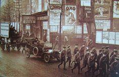 Army recruitment drive in London, November 1915