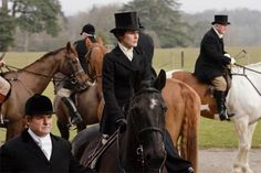 Lady Mary and her horse