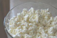 Making  Kefir Cottage Cheese