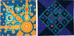 Gallery quilts from Adventures in Circles